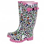 Scribble Adults - Dots Color Ladies Wellingtons